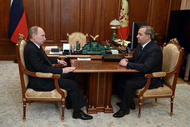 Встреча Путина с пучковым фото