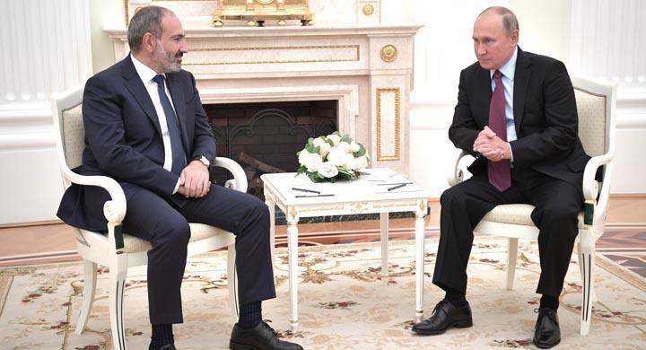 """Putin """"Köçəryan kartı""""nı işə saldı:Paşinyana görüşdən əvvəl """"gözdağı"""", yoxsa..?"""