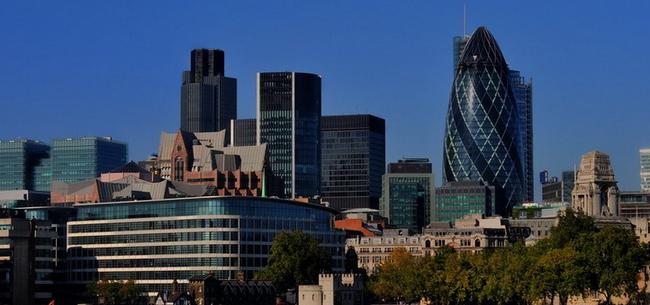 Лондонский Сити — деловой центр города