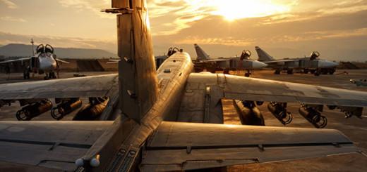 Российский штурмовик Су-25 на авиабазе «Хмеймим» в сирийской провинции Латакия Фото: © AP Photo, Russian Defense Ministry Press Service via AP
