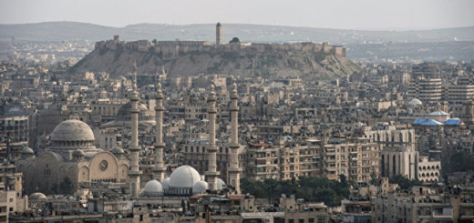 Вид на сирийский город Алеппо Фото: © РИА Новости. Илья Питалев