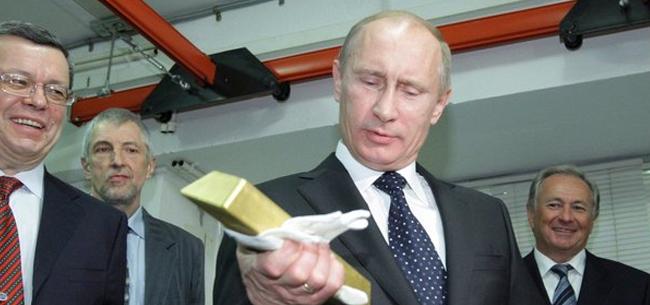 Экономика и финансы: Путин меняет бумаги США на золото