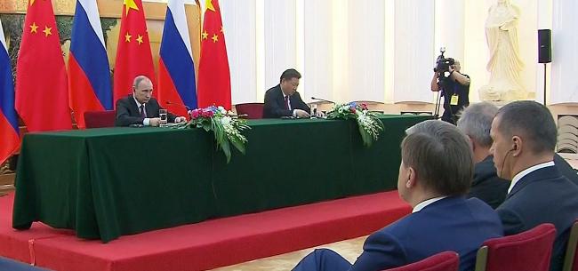 Заявления для прессы по итогам российско-китайских переговоров