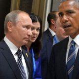 С Президентом США Бараком Обамой. Фото: kremlin