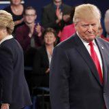 Хиллари Клинтон и Дональд Трамп © Rick T. Wilking/Pool via AP