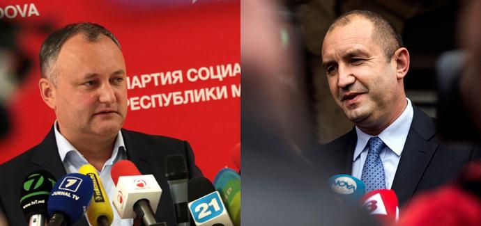 Игорь Додон, Румен Радев